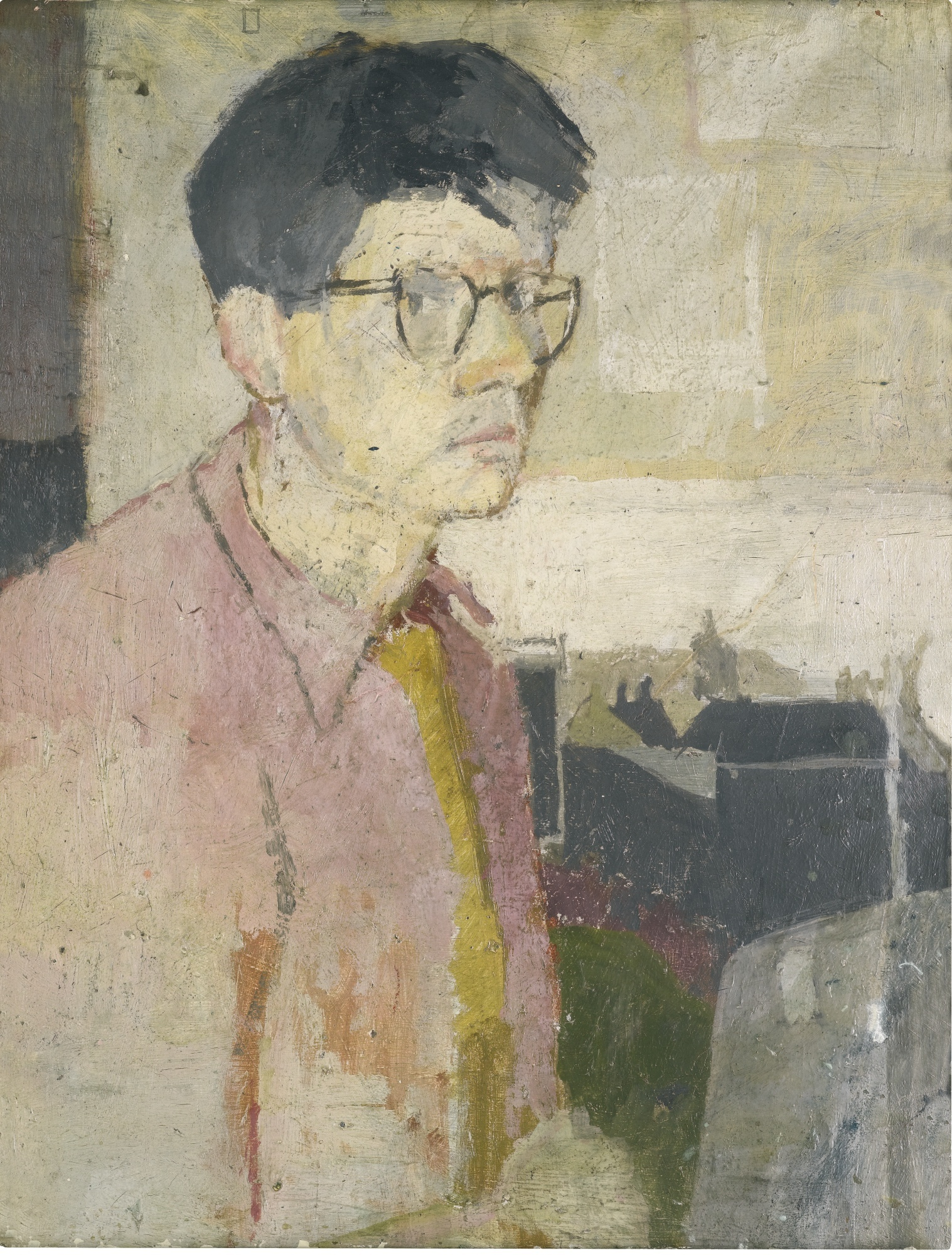 David Hockney  Self portrait